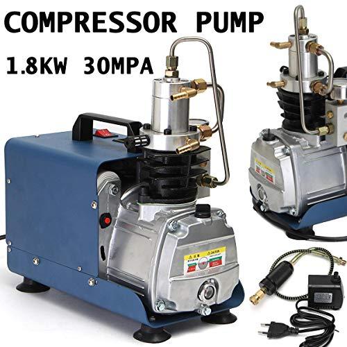 Price comparison product image SISHUINIANHUA 220V-240V 300BAR 30MPA 4500PSI High Pressure Air Pump Electric Air Compressor for Pneumatic Airgun Scuba Rifle PCP Inflator