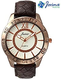 Jainx Copper White Dial Analog Watch For Men & Boys - JM184