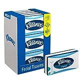 KLEENEX* Pañuelos Faciales 8824 - 72 pañuelos de color blanco y 3...