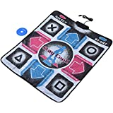 fosa Non-Slip Durable Wear-Resistant Dancing Step Pad Musical Play Mat Dancer Blanket with USB Connection for PC/Windows 98/2000/XP/7 OS, Applicable to Adults/Children