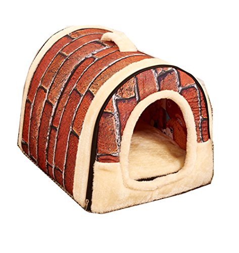 Pet Casa Home Sweet Home Bed per i cani, gatti, cuccioli e conigli (M)
