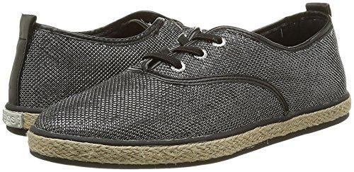 Guess Fllid2Sat12 Sneaker Donna Nero/Grigio EU 38 R7y