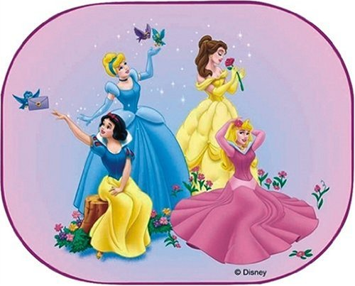 Disney Princess DPSAA010 Disney Princess Sonnenschutz, 36x45 cm, paar (Disney Prinzessin Baby)