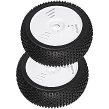 sharprepublic Neumáticos De Goma Durables De 1 Par para Piezas De Reparación De Vehículos Todo Terreno