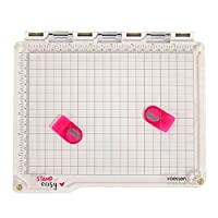 Vaessen Creative Easy Stamp Platform, White/Transparent, 23.5 x 20.5 x 1.8 cm