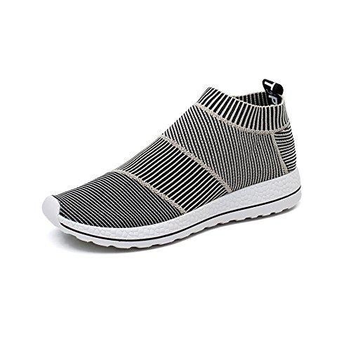 MERRYHE Hommes D'affaires En Cuir Véritable Chaussures De Moine A Souligné Toe Weave Winklepicker Chaussures Formelles Pour Les Cadeaux Du Père,Brown-39