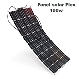 Panel solar flex 150w Monocrystalline 12v placa solar Flexible 150w