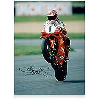 Carl Fogarty signierte Superbikes Foto: Sieg Wheelie