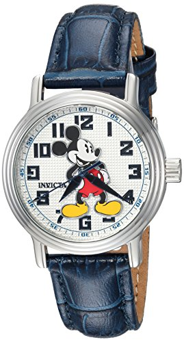 Invicta 24549 Disney Limited Edition - Mickey Mouse Orologio da Donna acciaio inossidabile Quarzo quadrante bianca