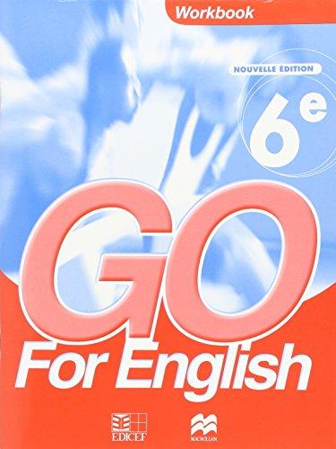 Go for English 6e/Livret d'Activites par Collectif