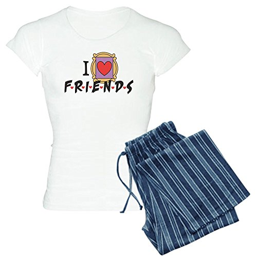 Friends TV Show - Damen-Pyjama-Set aus Baumwolle, bequemer Pyjama ()