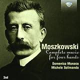 Moszkowski : Musique pour piano à 4 mains (Intégrale)