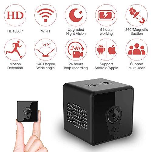 Gebraucht, Mini-Überwachungskamera, Mica House 1080P Drahtlose gebraucht kaufen  Wird an jeden Ort in Deutschland