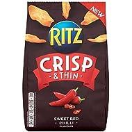 Ritz Croquante Mince Et Rouge Doux Chips De Piment 100G - Paquet de 6