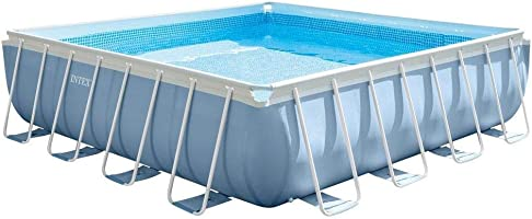 Intex 28764 Square Pool 427cm x 427cm, Multi Color