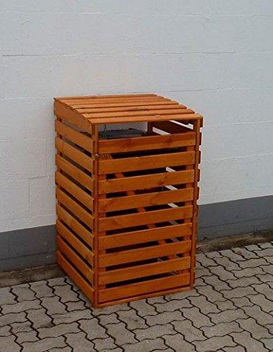 "Mülltonnenbox ""VARIO 4"" für 1 Tonne FSC Holz Verkleidung Mülltonnenverkleidung"