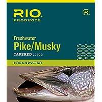 Rio Fly Angeln Lachs//Steelhead 9/9,1/kg Leaders gr/ün Pack 3