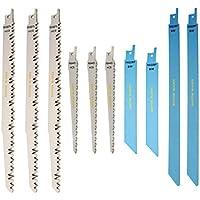 RPR10MX Saxton 10 lame de scie sabre Sabre Combo compatible avec Bosch, Dewalt Makita en bois et métal