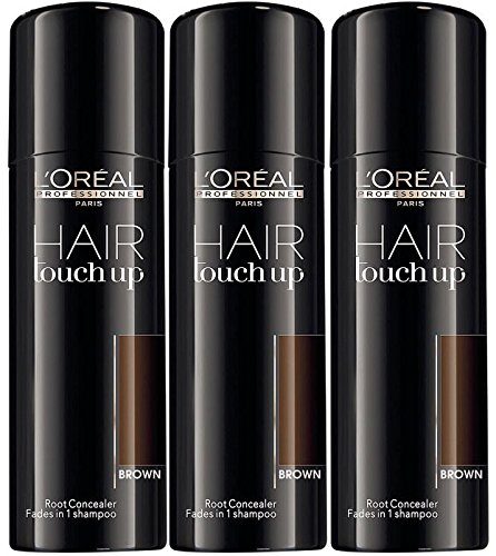 3Stück Loreal Hair Touch Up Braun 75ml (Touch-up-wurzeln)