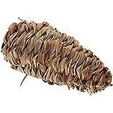 FACILLA®Paja Forma de Maíz 13cm Juguete para Conejos Cobayas Hamsters Ardillas