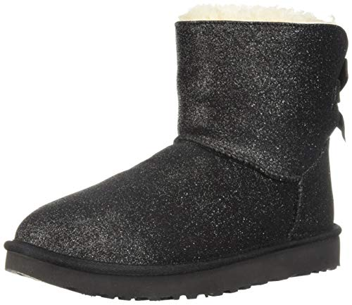 UGG Australia Mini Bailey Bow Nero METALIZZA - 37