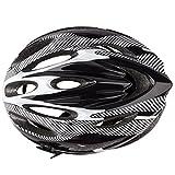 SODIAL(R)21 Ventila Ultraligeros Deportes Ciclismo Casco con Guarnicion Cojin Montana Bici Bicicleta Adulto Blanca