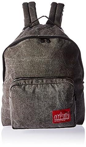 Manhattan Portage Big Apple Backpack MD Stonewash, Dark Brown, One