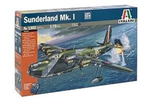 Italeri I1302 Model Aeroplane Short Sunderland Mk I on 1:72 Scale