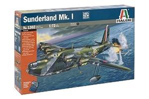 Italeri I1302 - Maqueta de avión Sunderland MK I (Escala 1:72)