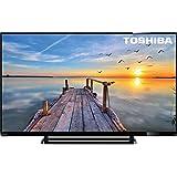 "Toshiba 50L2556DB - 50L2556DB - 50"" Black Full HD LED TV with Freeview HD 1920 x 1080 2x HDMI and 1x USB connectionVESA wall mount (mm): 400 x 400"