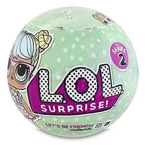 Giochi Preziosi - LOL Surprise Serie 2 Sfera con Mini Doll a Sorpresa, 7 Livelli, Modelli Assortiti, 1 Pezzo
