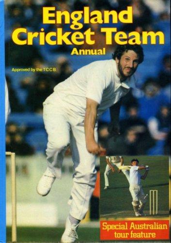 England Cricket Team Annual 1982