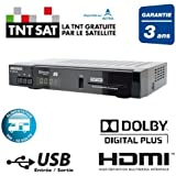 Terminal num rique double tuner satellite enregistreur - Decodeur tnt enregistreur double tuner ...