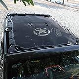 ECD Germany Supporto Hard Top Auto per Convertiblile Universale con Copertura XXL Tettuccio