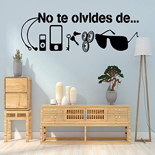 zzlfn3lv Neue Sonnenbrille Abnehmbare PVC Wandaufkleber Für Wohnkultur Wohnzimmer Schlafzimmer PVC Wandtattoos 30 * 90 cm