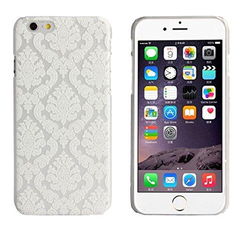 Bocideal Motif Mandala Fleur Housse Etui dur Etui pour iPhone 6 4.7Inch