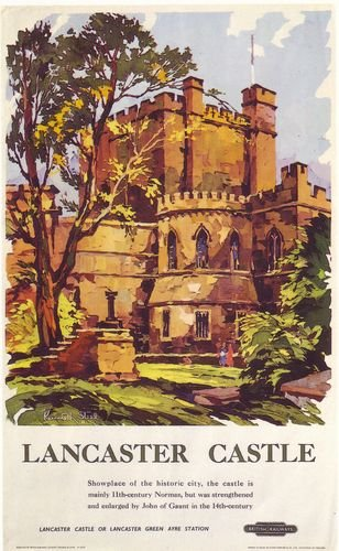 british-rail-lancaster-castle-railway-poster-a3-reprint