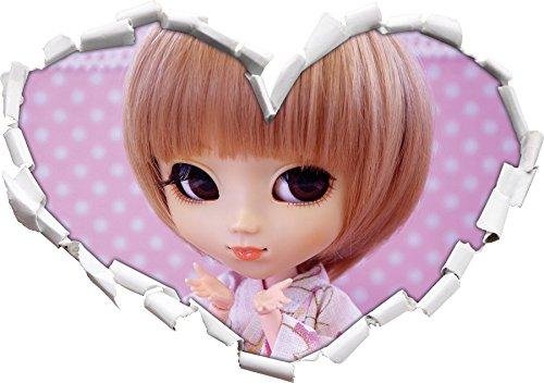 petite-poupee-en-forme-traditionnelle-de-coeur-kimono-dans-le-regard-3d-mur-ou-un-autocollant-de-por