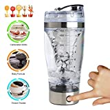 Electric Protein Shaker Mixer Shaker Bottle Electric Automatic Tornado Shaker Portable Stirring Blender for Workout Powder Supplements Coffee Protein