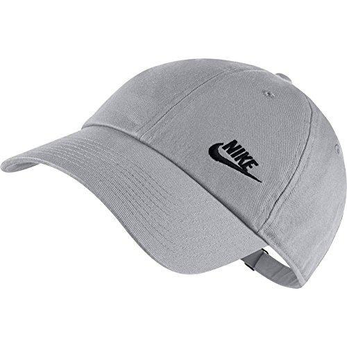 Nike Futura Classic Cap, Vast Grey/(Black), One Size