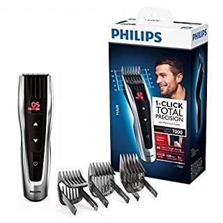 Philips HC7460/15 Haarschneider Series 7000 mit 60 Längeneinstellungen und motorisierten Kämmen (B00S3NPKKG) | Amazon price tracker / tracking, Amazon price history charts, Amazon price watches, Amazon price drop alerts