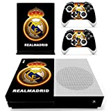 #9: Hytech Plus Real Madrid Gold Edition Theme Sticker for Xbox One S Console & 2 Controllers
