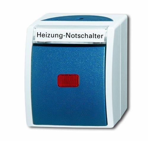 Busch-Jaeger BUSC Heizungsnot-/Kontrollschalter 2601/2 SKWNH-53 2polig, 250 V -