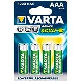 Varta 56763 AAA Micro Akku (1000 mAh, 4er Blister)