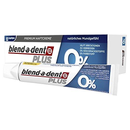 Blend-a-dent Plus Premium-Haftcreme 0{3603b1234e491b5541e6b3e6e4e267298f297111428da5dbfd8d206a7b03580a}, 12er Pack (12 x 40 g)
