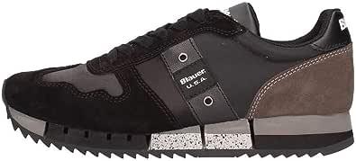 Blauer USA Sneakers Donna Melrose in Tessuto e camoscio Nero