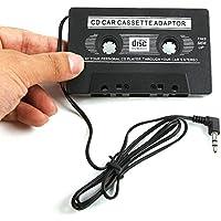 Malloom 3.5mm Cassette Adaptador Cinta Radio Coche Car Audio Adaptor Para MP3 IPod CD MD iPhone