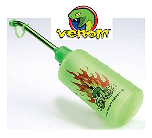 Venom Spezial Tankflasche 500ml 8mm Stutzen grün eloxiert