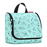 reisenthel toiletbag kids cats and dogs mint Maße: 23 x 20 x 10 cm / Maße: 23 x 55 x 8,5 cm...