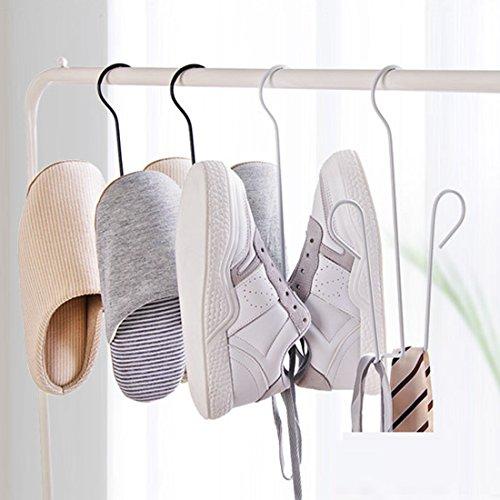 Guangmu Schuh-Aufhänger mit 3 Metall Haken Schuhe aus Leder, hohe Schuhe, Sneaker, Hausschuhe,...
